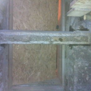 We had to change an existing doorway into a window and it nessisary was to have a new window cill cut to match the existing stonework.