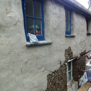 specialist lime render to cob