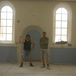 lime plaster isles of scilly