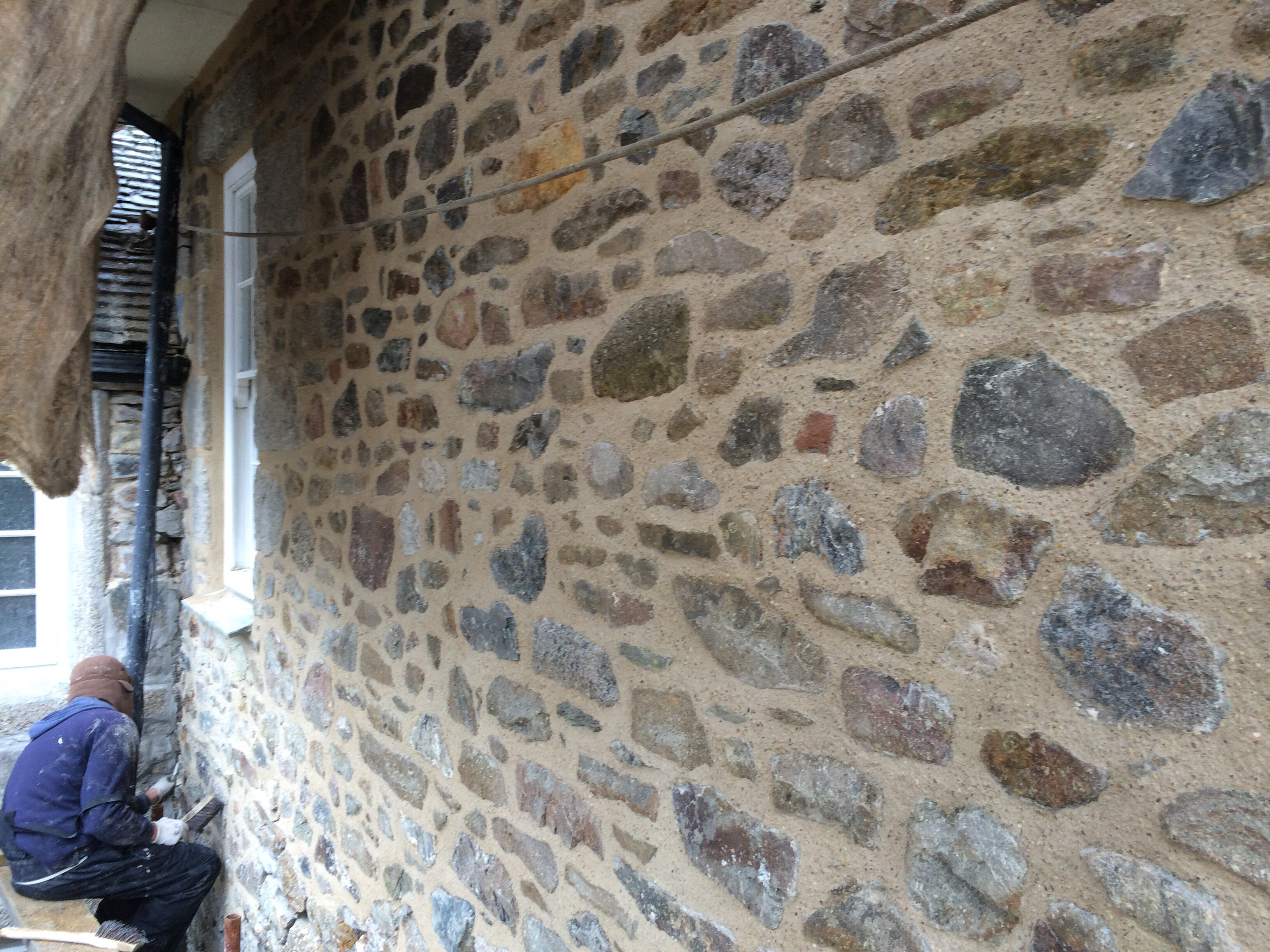 Traditional Lime Pointing Services Cornwall Cornish Lime