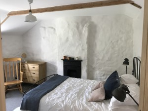 Lower town master bedroom