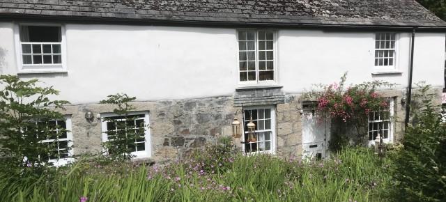 Vine Cottage. Cob Repair