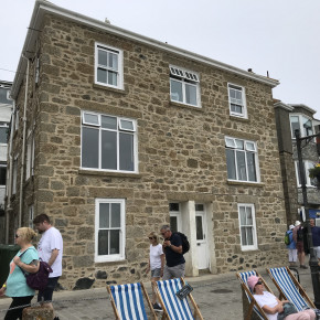 St Bridget's house the wharf St Ives.