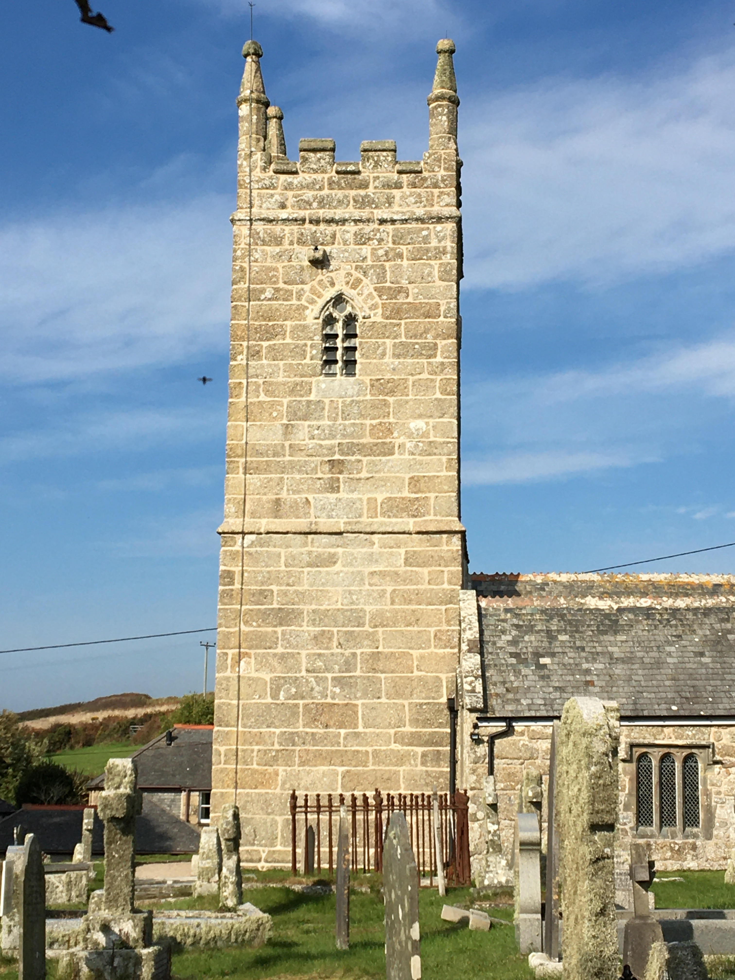 Lime Poining to listed buildings in Cornwall.
