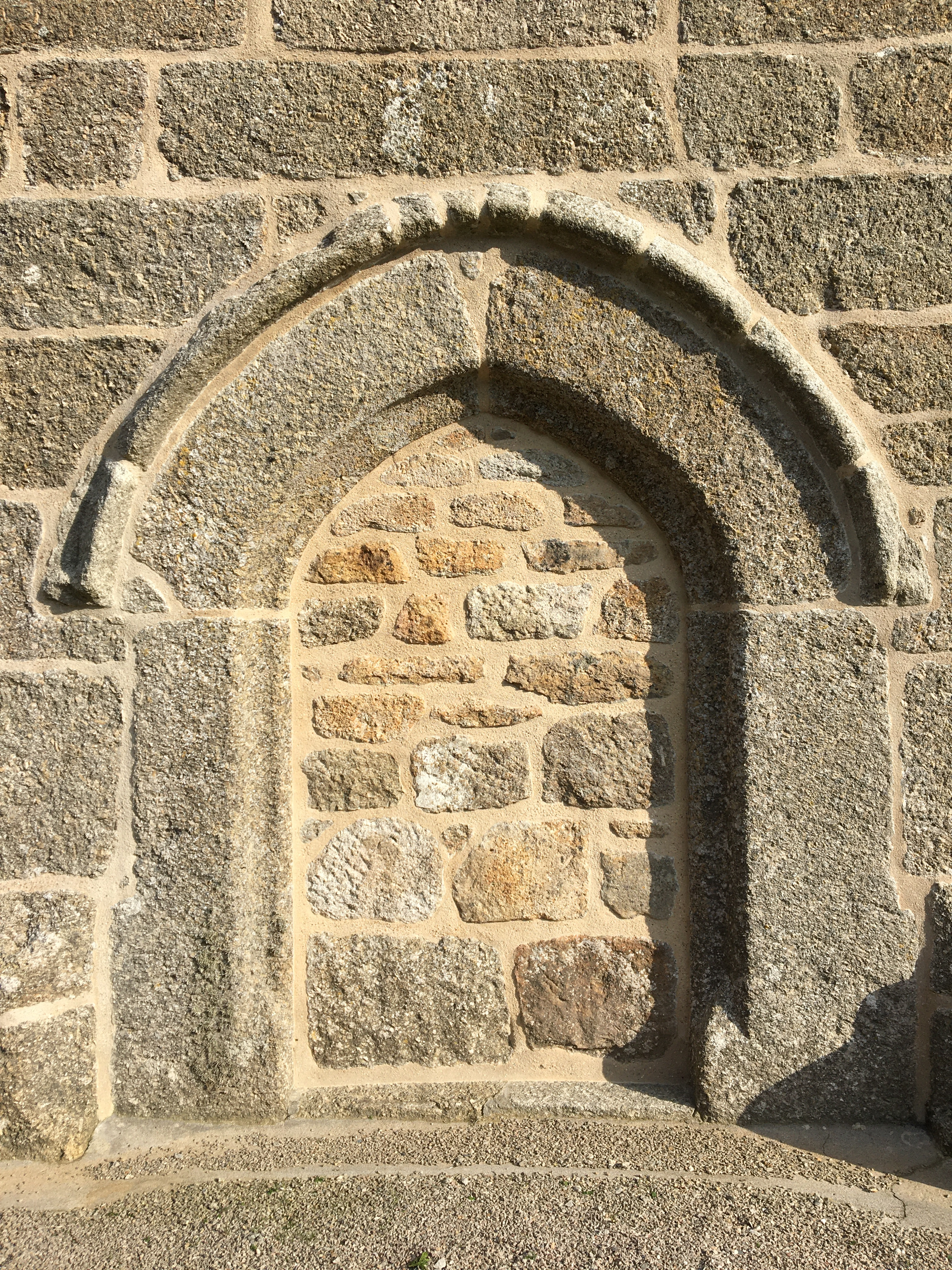 Lime pointed church pointed by Cornish lime masons