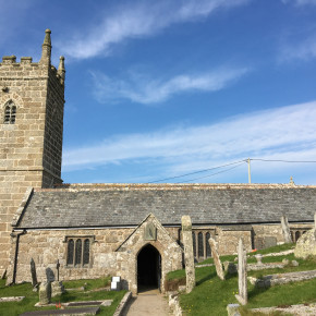 St Leven Church